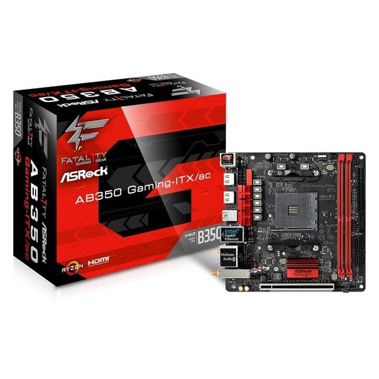 ASRock Fatal1ty AB350 Gaming-ITX