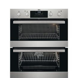 AEG DUS331110M Electric Built under Double Oven Stainless Steel Reviews