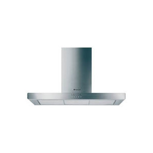 Photo of Hotpoint HS93X 90CM Chimney Hood (Stainless Steel) Cooker Hood
