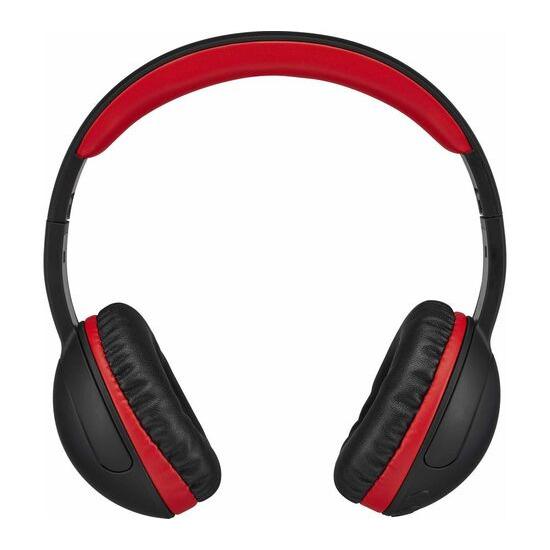 GOJI GOVBT17 Entry Wireless Bluetooth Headphones - Black & Red