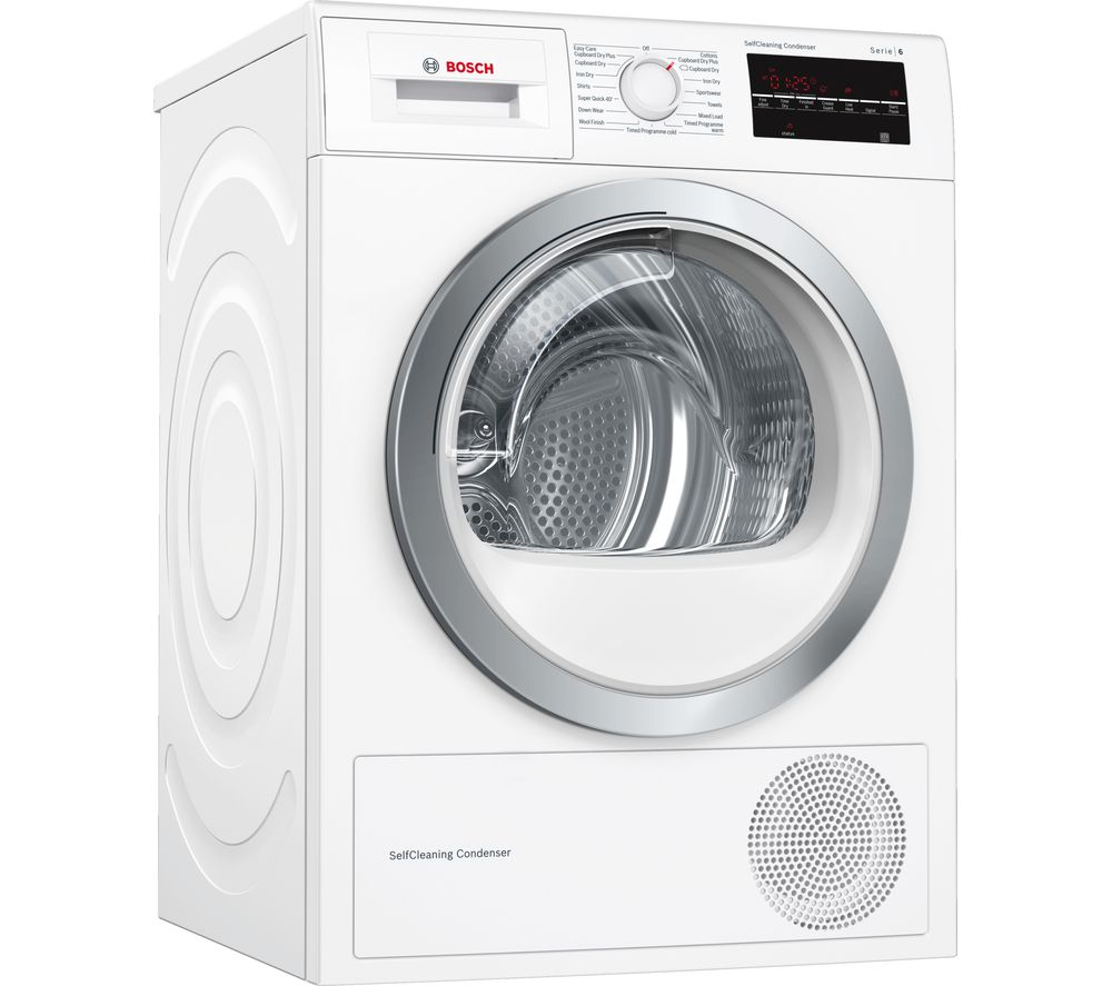 Bosch Serie 6 Wtw85480gb 8 Kg Heat Pump Tumble Dryer Reviews And Prices