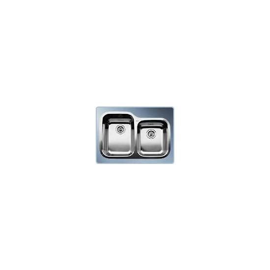 BLANCOSUPREME 735-U Undermount Double Sink