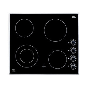 Photo of Electric Hob 4 Zone Ceramic Hob Stainless Steel Hob