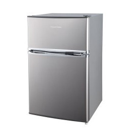Russell Hobbs RHUCFF50SS Under Counter Top Mount Freestanding Fridge Freezer - Stainless Steel Reviews