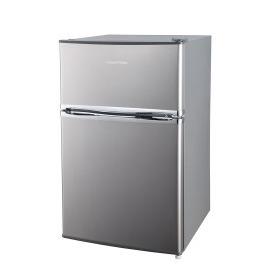 Russell Hobbs RHUCFF50SS Under Counter Top Mount Freestanding Fridge Freezer - Stainless Steel Reviews