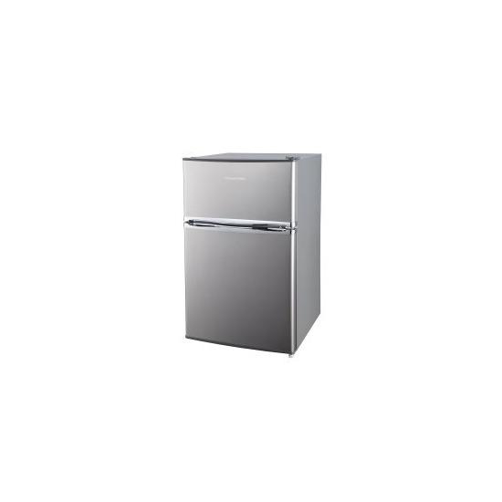 Russell Hobbs RHUCFF50SS Under Counter Top Mount Freestanding Fridge Freezer - Stainless Steel