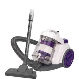 Russell Hobbs RHCV3001 Cylinder Bagless Vacuum Cleaner - White & Purple Reviews