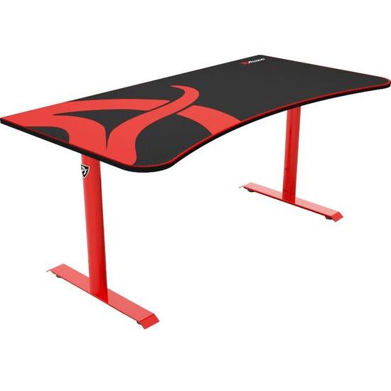 AROZZI Arena Gaming Desk - Red & Black