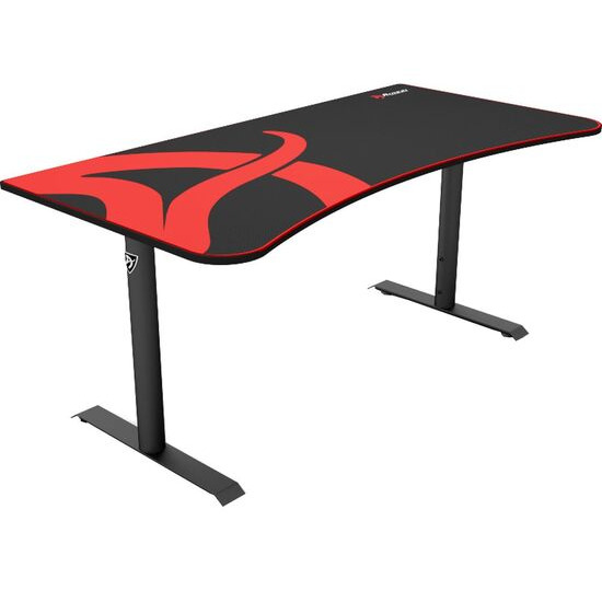 AROZZI Arena Gaming Desk - Black & Red