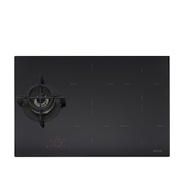 Caple C896IBK Black glass Induction and gas hob Reviews