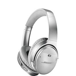 BOSE QuietComfort Wireless Bluetooth Noise-Cancelling Headphones - Silver Reviews