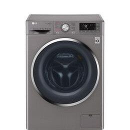 LG J+ 8 Series F4J8FH2S Smart 9 kg Washer DryerShiny Steel Reviews