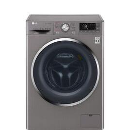 LG J+ 8 Series F4J8FH2S Smart 9 kg Washer DryerShiny Steel Reviews