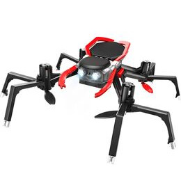 VIVID Spider Drone with Controller - Black & Red