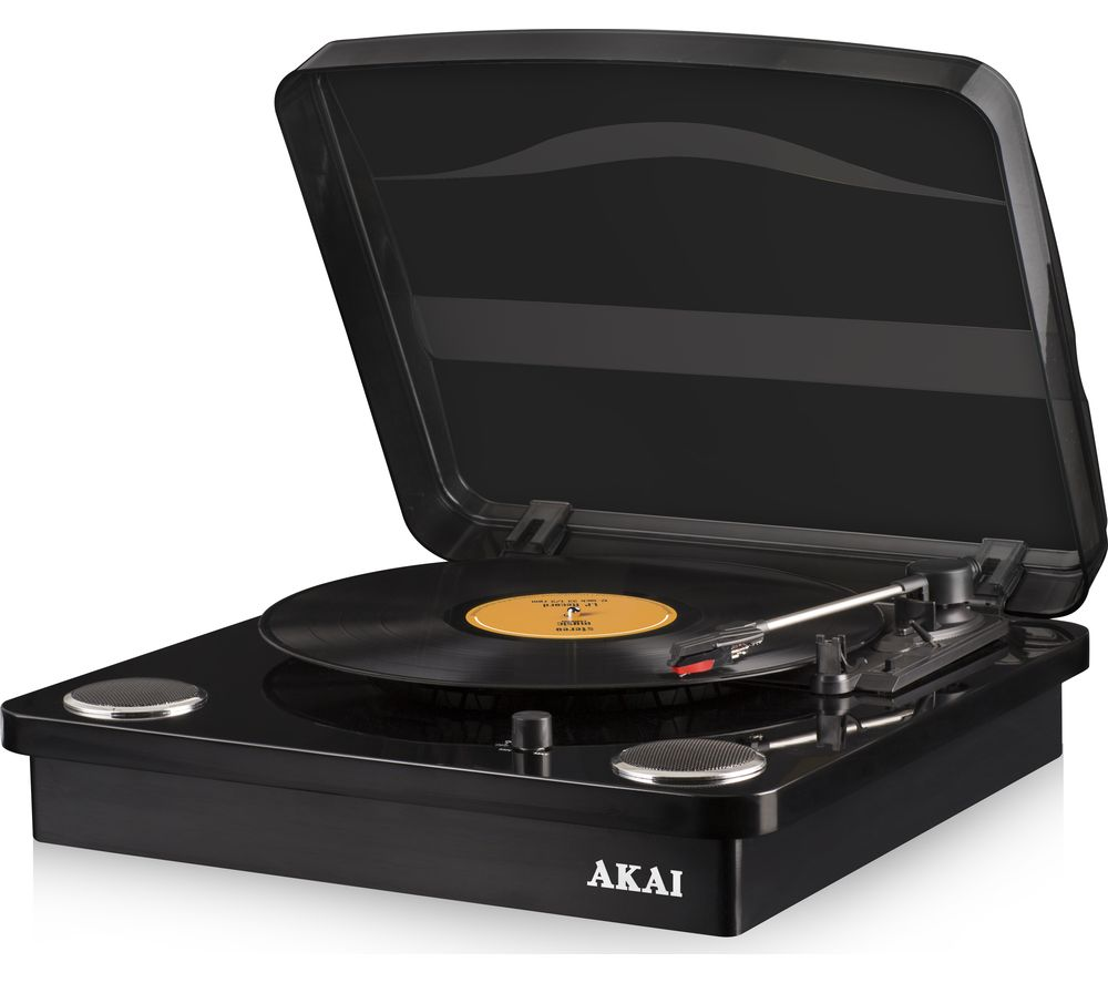 Akai Classic A60020B Bluetooth Turntable Black reviews and