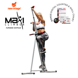 MaxiClimber Vertical Climbing Fitness System Reviews