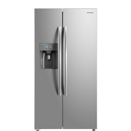 Daewoo FRAM50D3S American Fridge Freezer With Ice and Water - Silver Reviews