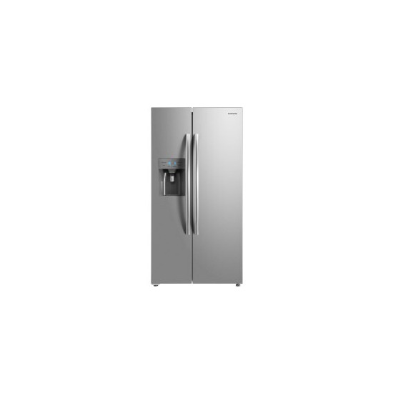 Daewoo FRAM50D3S American Fridge Freezer With Ice and Water - Silver