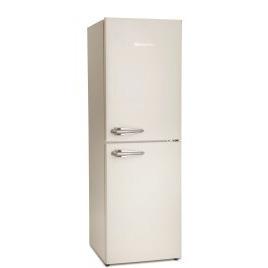 Montpellier MAB148C Retro Style 50-50 Freestanding Fridge Freezer - Cream Reviews