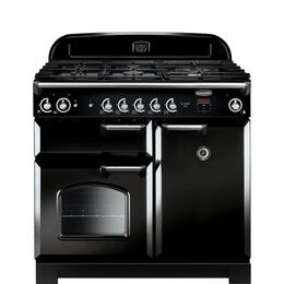 Rangemaster Classic 100 Dual Fuel Range Cooker - Black & Chrome Reviews
