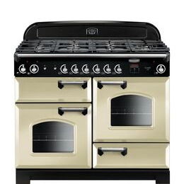 Rangemaster Classic 110 cm Gas Range Cooker - Cream & Chrome Reviews