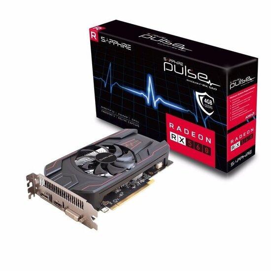 SAPPHIRE PULSE Radeon RX 560 4GD5 4GB GDDR5 Graphics Card