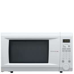 Daewoo KOR1NOA Family Size Touch Control Solo Microwave Oven 31 Litre 1000 Watt - White Reviews