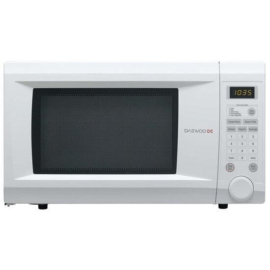 Daewoo KOR1NOA Family Size Touch Control Solo Microwave Oven 31 Litre 1000 Watt - White