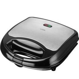 Logik L02SMS17 Sandwich Toaster - Black & Silver Reviews