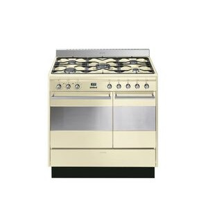 Photo of Smeg SUK92MFP5 90CM Dual Fuel Range Cooker Cooker