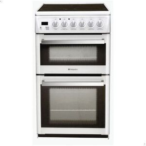 Photo of Hotpoint EG74G Dual Fuel Double Oven Cooker Cooker
