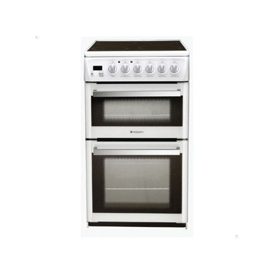 Hotpoint EG74G Dual Fuel Double Oven Cooker