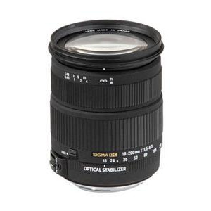 Photo of Sigma 18-200MM F3.5-6.3 DC OS (Canon Mount) Lens