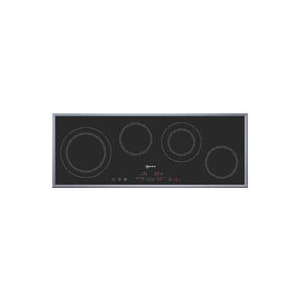 Photo of Neff T13H4N0 ''Series 4'' 90CM Ceramic Hob With Stainless Steel Frame Hob
