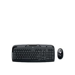 Logitech Cordless Desktop EX 110 - Keyboard - wireless - RF - mouse - USB / PS/2 wireless receiver - English - United Kindom Reviews