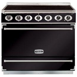 Falcon F900SEIBLC 900S Dividable Single Oven 90cm Electric Range Cooker Black/Chrome 90000