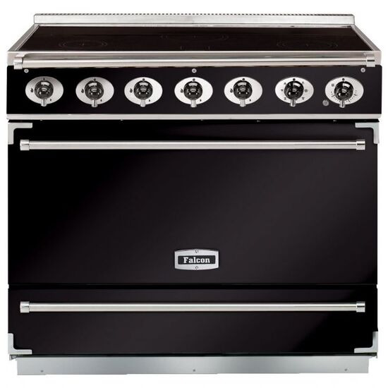 Falcon F900SEIBLC 900S Dividable Single Oven 90cm Electric Range Cooker Black/Chrome 90000