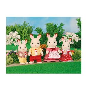 Photo of Sylvanian Rabbit Family Toy