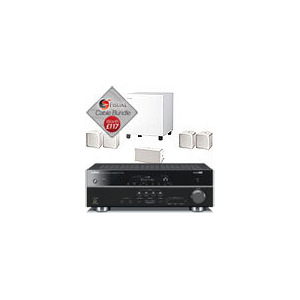 Photo of Jamo A102 HCS6 Speaker Package and Yamaha RX-V567 AV Receiver With Free Cable Pack Home Cinema System