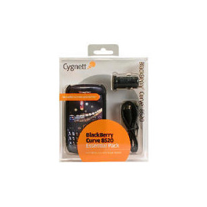Photo of Cygnett Essential Pack For BlackBerry 8520 Curve Mobile Phone Accessory