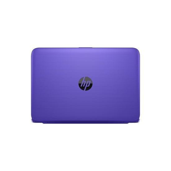 HP Stream 11-y002na Intel Celeron N3060 2GB 32GB eMMC 11.6 Inch Windows 10 Laptop Purple