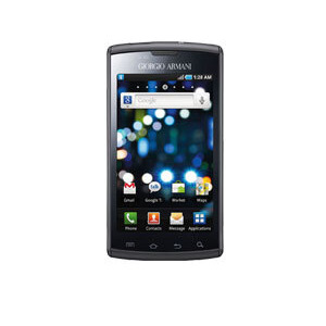 Photo of Giorgio Armani Samsung Galaxy S Mobile Phone
