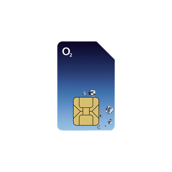O2 Sim for MBB MF100 Black Device