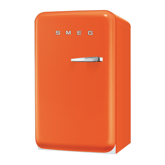 Smeg FAB10LO 50's Retro Style (Orange + Left Hinge)