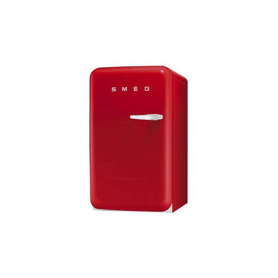 Smeg FAB10LR 50's Retro Style (Red + Left Hinge)