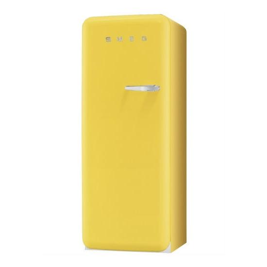 Smeg FAB28YG 50's Retro Style (Yellow + Left Hinge)