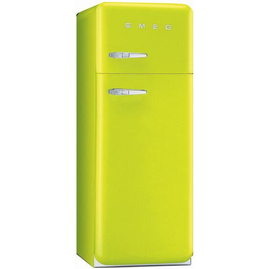 Smeg FAB30QVE 50's Retro Style (Lime green + Right Hinge)