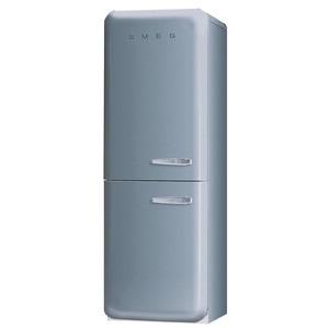 Photo of Smeg FAB32YX 50's Retro Style (Silver + Left Hinge) Fridge Freezer