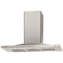 DE DIETRICH DHP7912X Chimney Cooker Hood - Stainless Steel