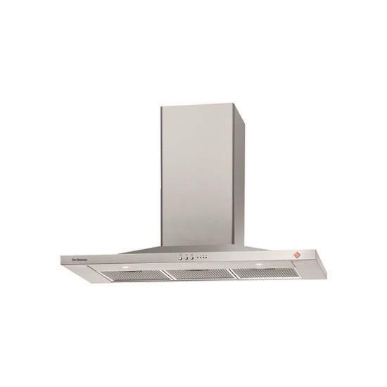 DE DIETRICH DHP7912X Chimney Cooker Hood - Stainless Steel